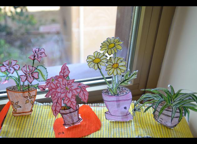 Progettazione di un davanzale fiorito alunno 1